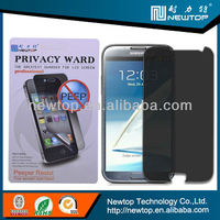 anti-spy 3m privacy screen protector for samsung galaxy s4