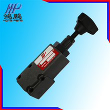 The highest pressure DG/DT series hydraulic straight moving type relief valve