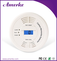 2015 hot new products CE certification Carbon Monoxide Detector 868MHZ gsm alarm system with relay