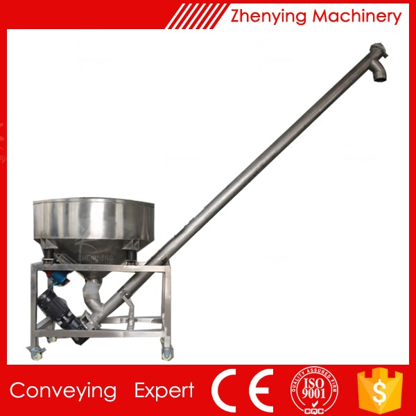 Auger Flight Screw Conveyor Machine