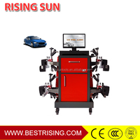 CCD bluetooth wireless wheel alignment for garage