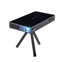 2017 new Cheapest Android led 3D Built-in Battery Touch mini DLP projector for smartphone support 1080P