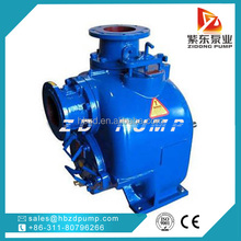 Self priming single suction septic tank pump