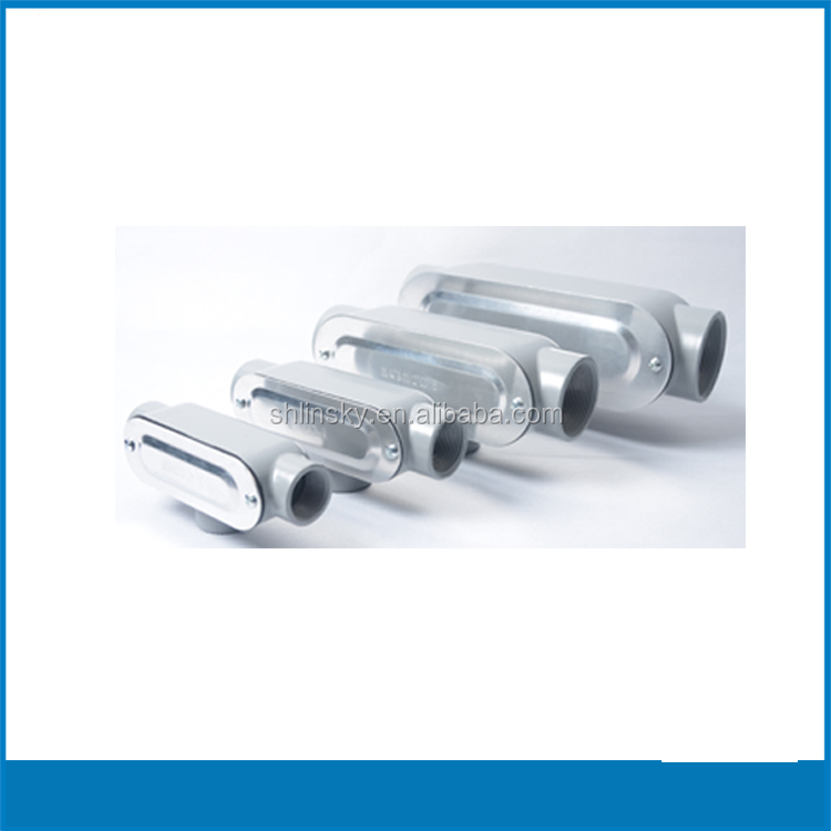 Shanghai China UL listed Threaded sec screw combo conduit outlet fitting body