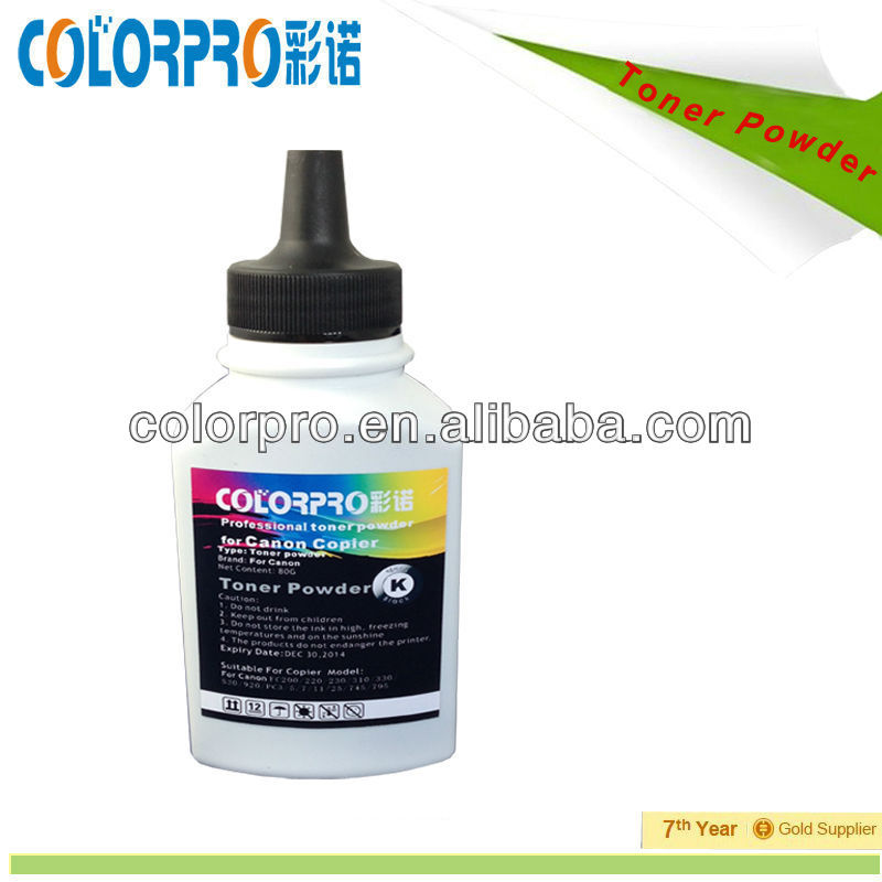 NEW!Black toner powder of Copier for Canon IR-1600/2000/2230/2270/3530/2016/1510