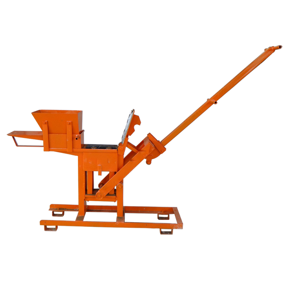 YLF1-40 manual clay interlocking brick making machine for sale
