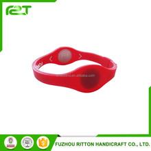adjustable silicone logo print rfid wristband
