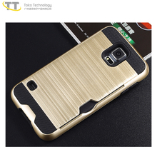 Handphone case shell for samsung galaxy s5 G900K / G900L / G900S case cover gold mobile phone cover