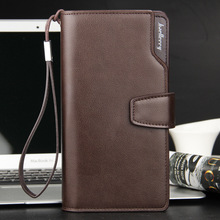 Wholesale Original baellerry men's leather wallet with zipper for Euro Pound coin holders New Arrival