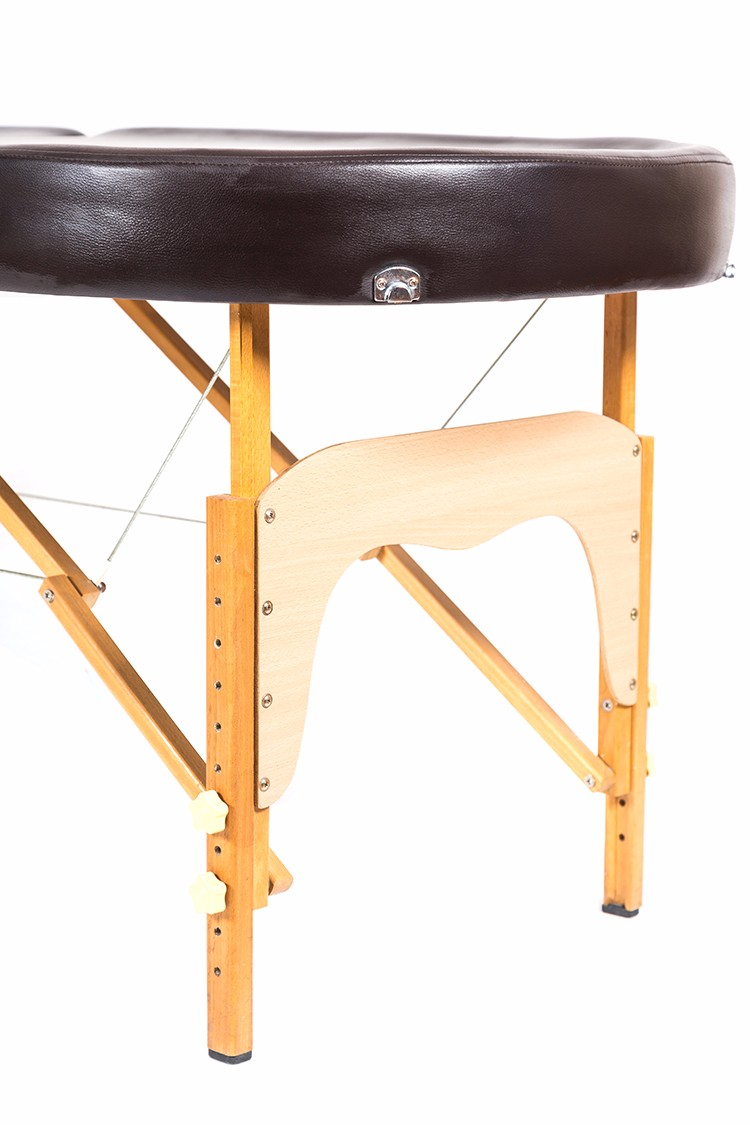 Durable fashionable hot sell wooden portable massage table