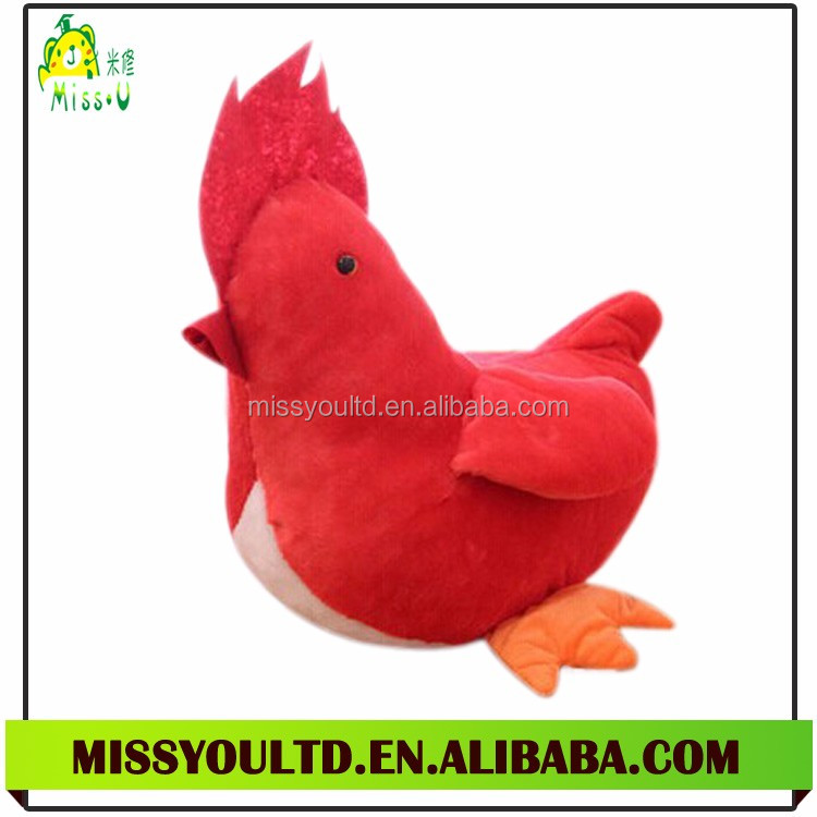 Chicken Shaped Plush Pet Toy