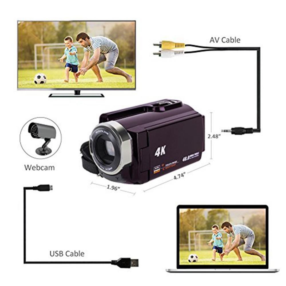 Высокое качество 4 к видеокамера-Регистратор видеокамеры Ultra HD цифровой Камера s и DI0085600-detail (2)