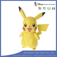 Pikachu cute action figure toys for kids and adult from china OEM factory