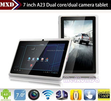 Cheapest touch tablet android wifi tablet Android 4.2 Allwinner A23 512mb 4gb RAM with dual core dual cameras