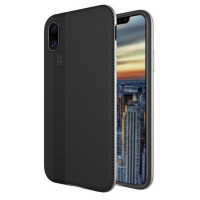 For Apple iPhone 8 Case 5.8 Inch Funda Thin Matte Carbon Fiber Brushed TPU Silicone Back Cover For iPhone 8 soft shell Housing