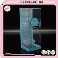 high quality plastic clamshell packaging folding box