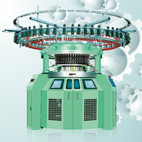 Industrial Computerized Sweater 4/6 Colors Striper Circular Knitting Machine Sale Price