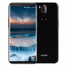 "UHANS I8 Mobile Phone 5.7"" 18:9 4GB+64GB Android 7.0 MT6750T 3500mah 4G Smartphone"