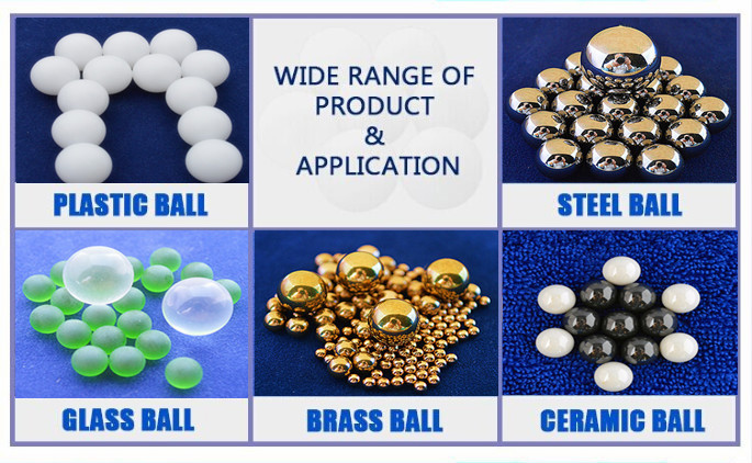 High precision 7.144mm 8mm 9mm 10mm 12mm 12.7mm 15mm 15.875mm PA nylon Plastic ball