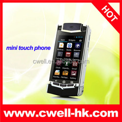 2.5 inch small size touch screen Dual SIM cheap android phones Mini V8