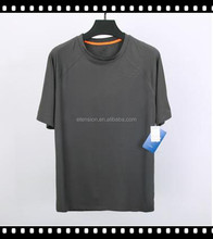 New Model Men Sports Jersey Breathable Elastic Mesh Yarn T-Shirt