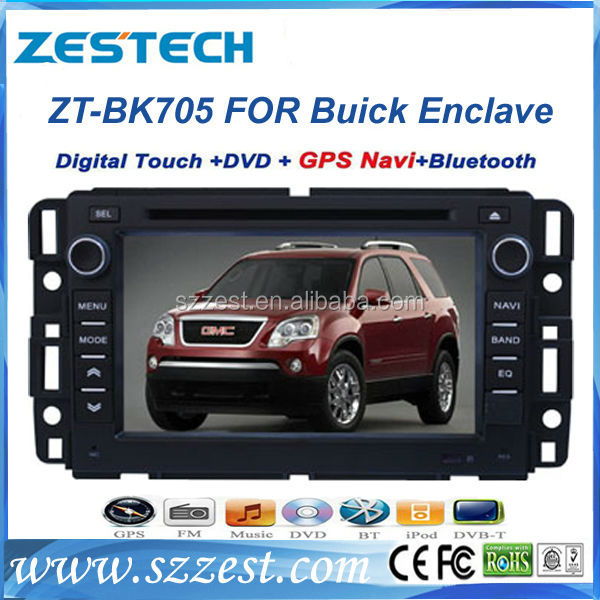 ZESTECH HD Touch Screen Car DVD GPS for Buick LUCERNE Enclave Car DVD GPS Radio