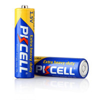 PVC Jacket 1.5V R6P AA 0%hg Zinc Carbon Battery for Remote Control