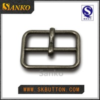 Classic simple style alloy metal belt buckles for garments