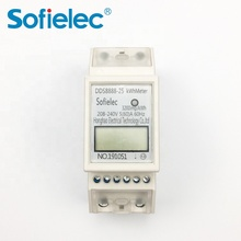 single ph three ph remote electric rs485 power <strong>meter</strong> is din rail digital type <strong>meter</strong>