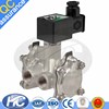 Hot selling steam solenoid valve / 3 way solenoid valve / hydraulic magnetic valve with best quality