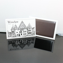 Custom strong magnetic tourist souvenir tin fridge magnet,Wroclaw magnets