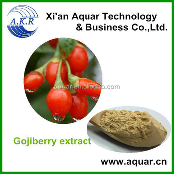 Food grade Goji berry extract, High quality Goji extract berry powder/Polysaccharides 20%-90%