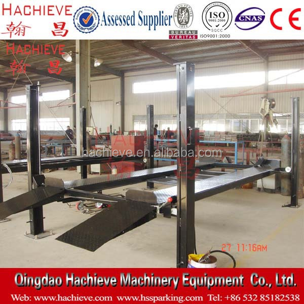 Best sales 4 post lifting hoist / car park hoist