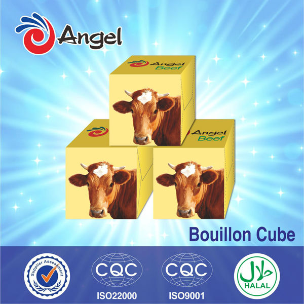 high quality 4g beef bouillon beef flavor beef soup stock, soup condiment