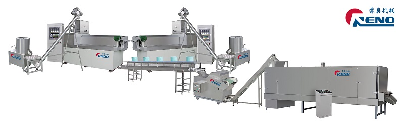 Dog chews gum extrusion machine