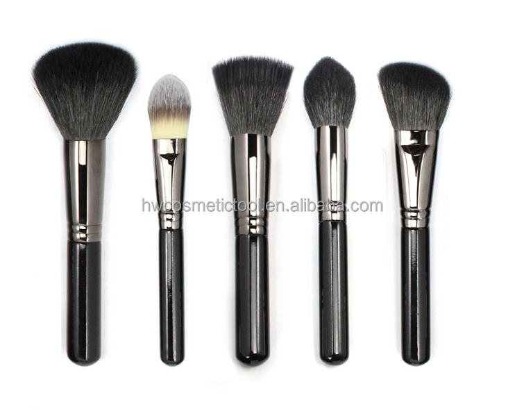 High quality Goat hair makeup cosmetic brush set