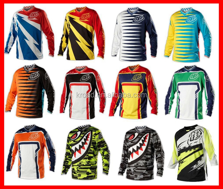Wholesale MTB unisex cycling jersey