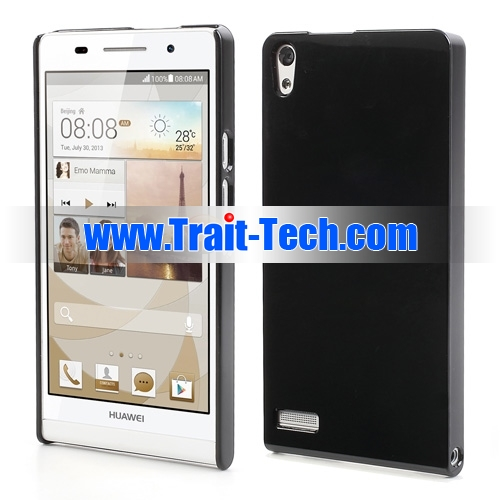 For Huawei Ascend P6 Case Glossy Slim Hard Cover