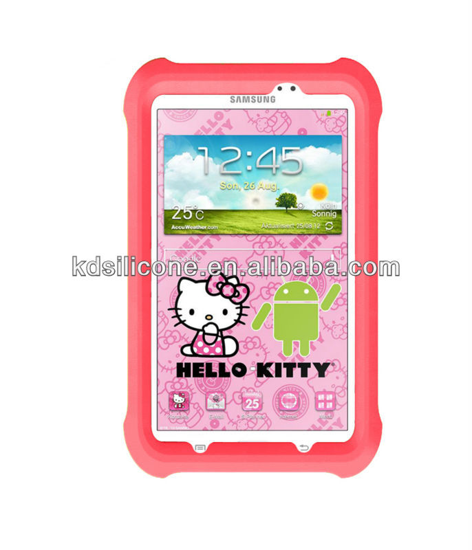 kid proof case for samsung galaxy tab 3 7.0 Hello Kitty Edition