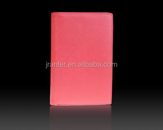 Factory Wholesale Custom Genuine Leather Personalized Passport Holder
