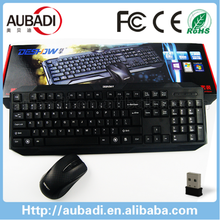 New OEM Brand Professional Wireless Gaming Keyboard Mouse Combo,wireless mouse keyboard