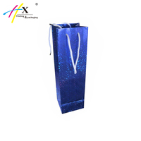 Wholesale Paper Wine Bags Gift , Wine Bottle Bag