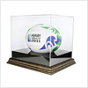 Clear Acrylic Single Golf Ball / Soccer Ball / Baseball Display Case Personalized