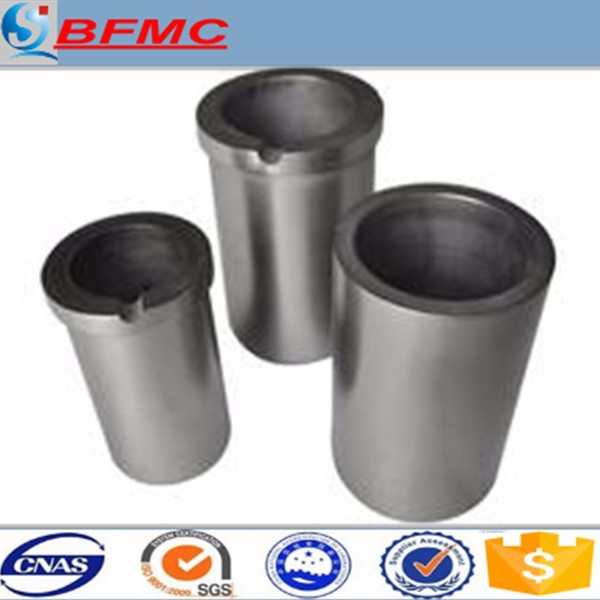 smelting crucible designed for gold jewelry casting