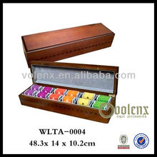 Classical Wooden Twisted Tea Box (SGS/BV)