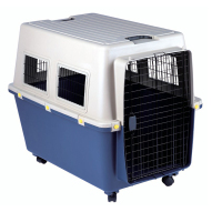 Ready Stock Pet Kennel DOG PLASTIC HOUSE WITH METAL DOOR ORIENPET & OASISPET NTD8888A