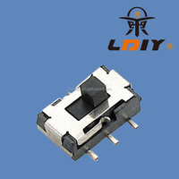 7.15*4*3.5mm micro slide switch 1P3T sliding switch miniature vertical slide switches LY-SK-08
