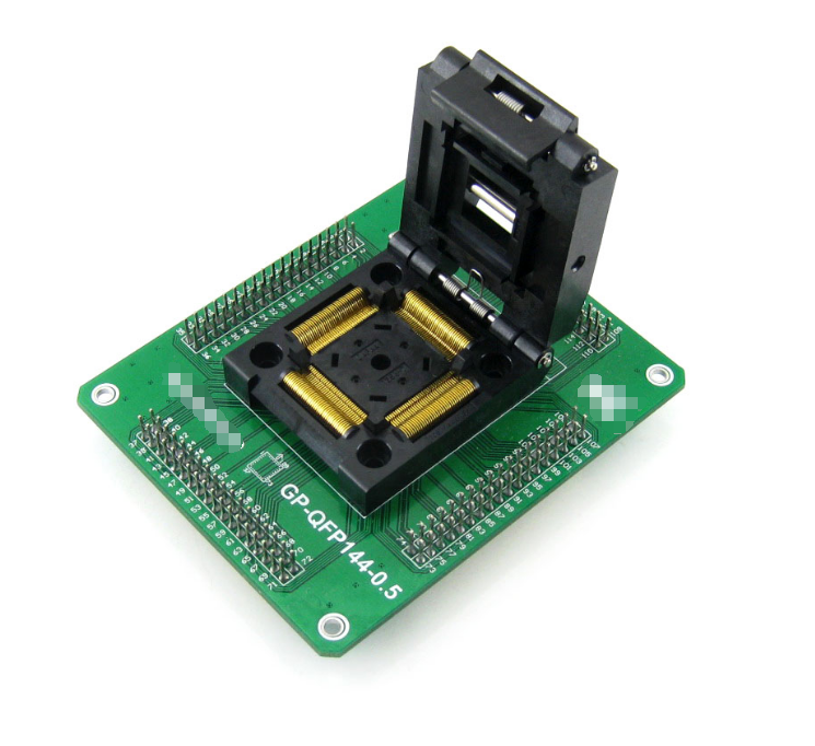 GP-QFP144-0.5 IC Test Socket and Programming Adapter for QFP144 TQFP144 LQFP144 package