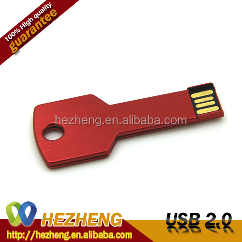 Factory Sales Directly 1GB Slim Key USB 2.0 3.0 Memory Cards Thumb Drive With KeyChain Flash driver Customized Free Samples