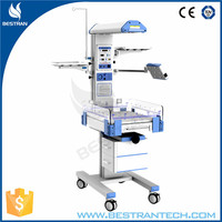 China BT-NR02T CE approved hospital medical infant radiant warmer/baby warmer with LED phototherapy unit